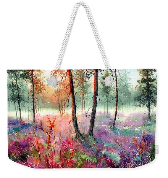 When Heathers Bloom Weekender Tote Bag