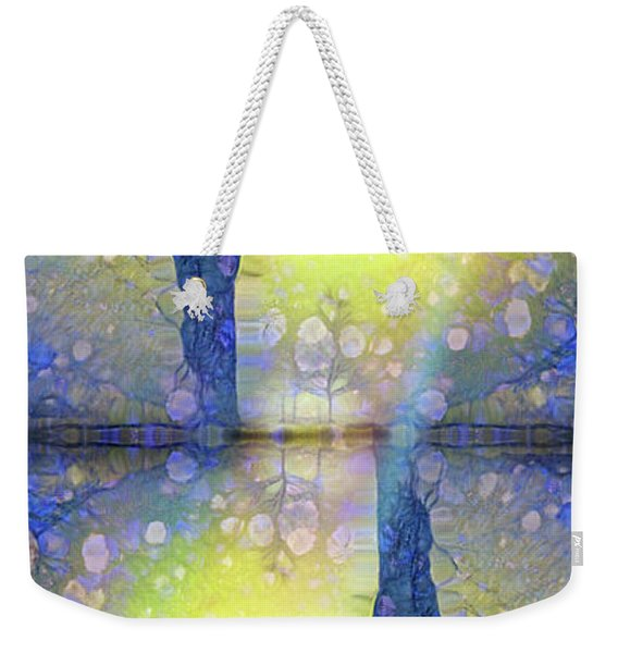 When Winter Rejoices In The Expectation Of Spring Weekender Tote Bag