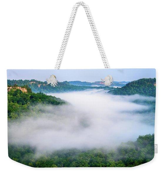 Where Eagles Fly Weekender Tote Bag