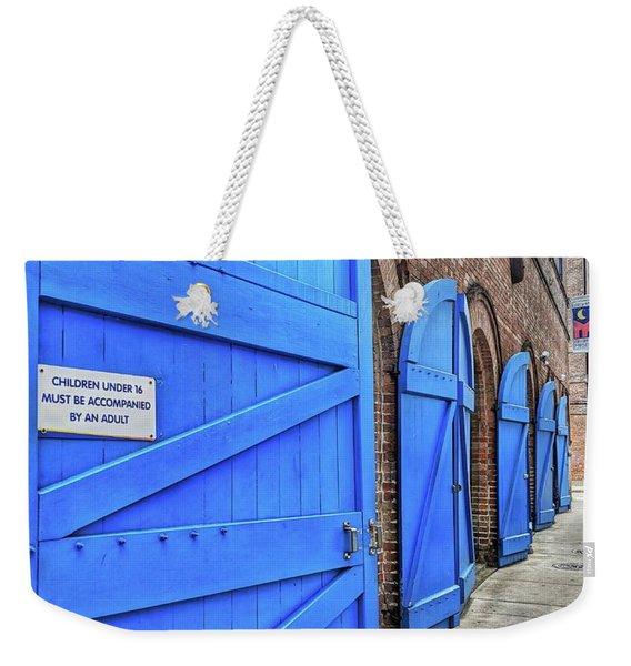 Which Blue Door Weekender Tote Bag