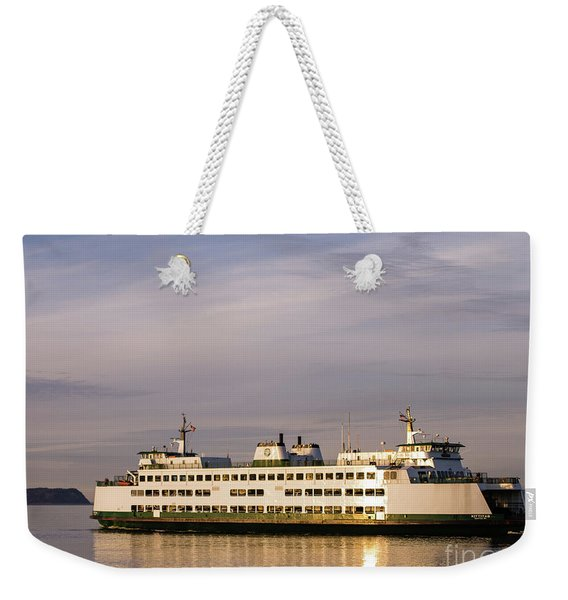 Whidbey Island Ferry Weekender Tote Bag