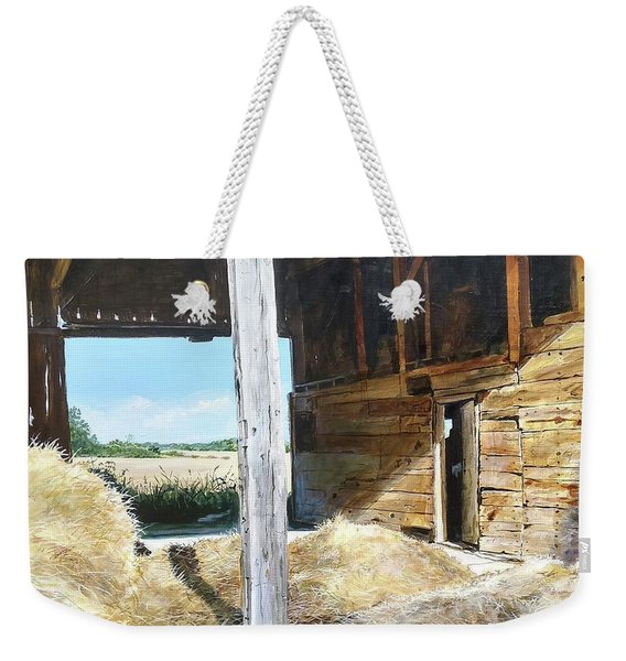 While The Sun Shines Weekender Tote Bag