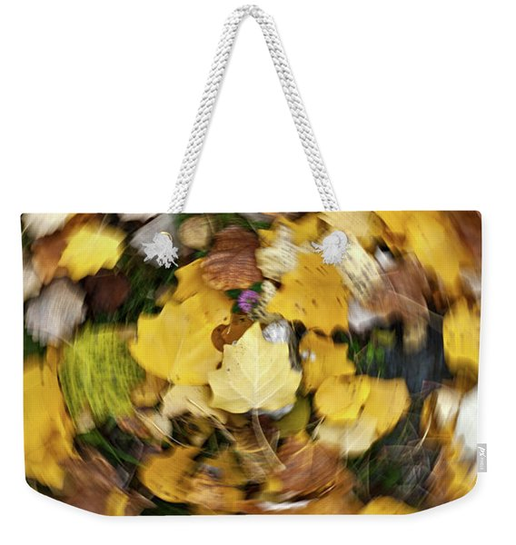 Whirlpool Of Autumn Weekender Tote Bag