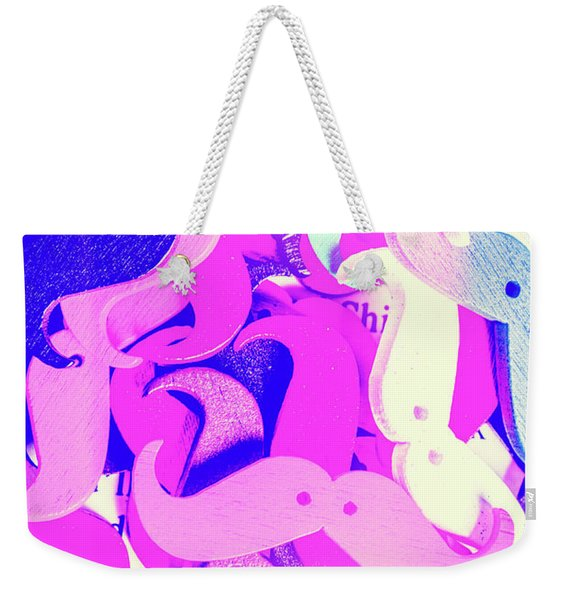 Whiskers And Words Weekender Tote Bag