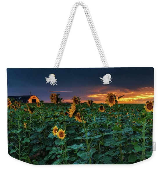 Weekender Tote Bag featuring the photograph Whispers Of Summer by John De Bord