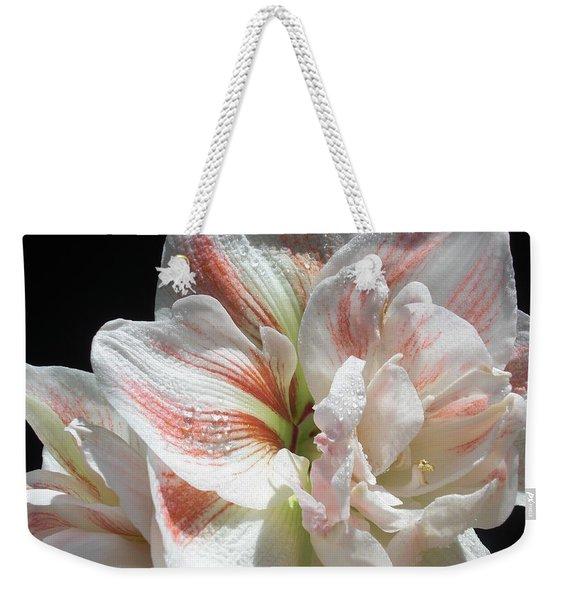 White Glory Weekender Tote Bag