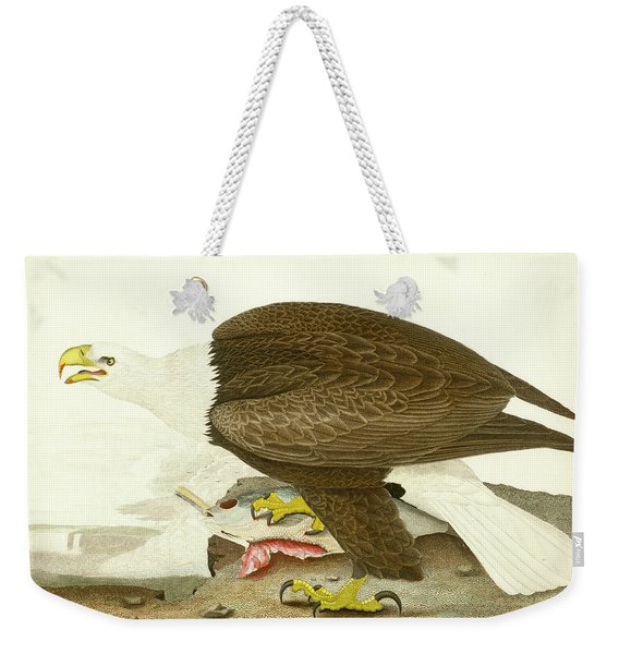 White-headed Eagle Weekender Tote Bag