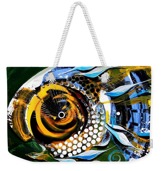 White-headed Mouth Fish Weekender Tote Bag