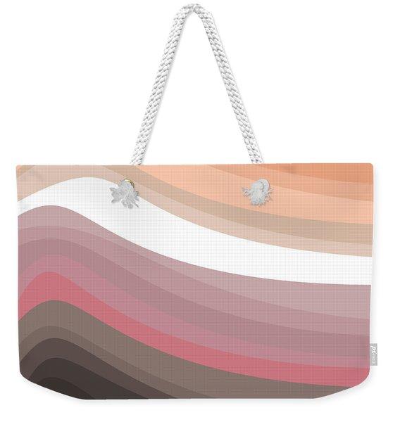 White Light Weekender Tote Bag