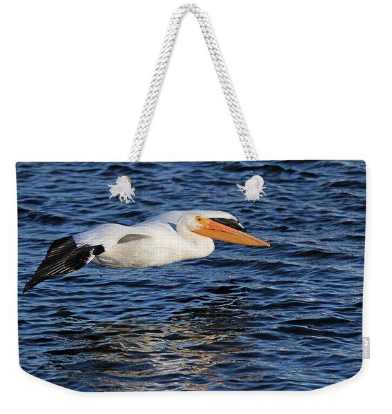 White Pelican Cruising Weekender Tote Bag