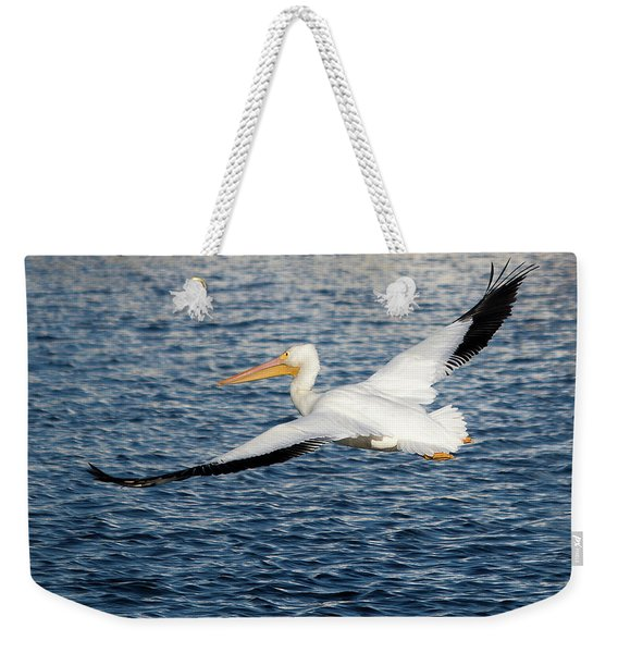 White Pelican Wingspan Weekender Tote Bag
