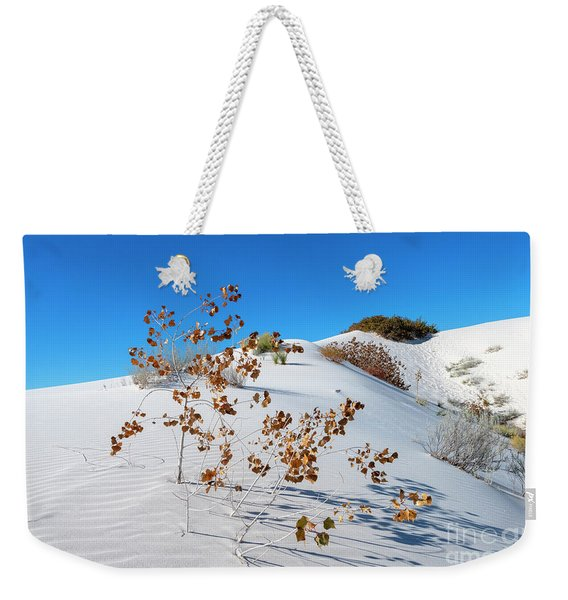 White Sands Autumn Weekender Tote Bag