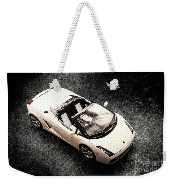 White Spyder Weekender Tote Bag