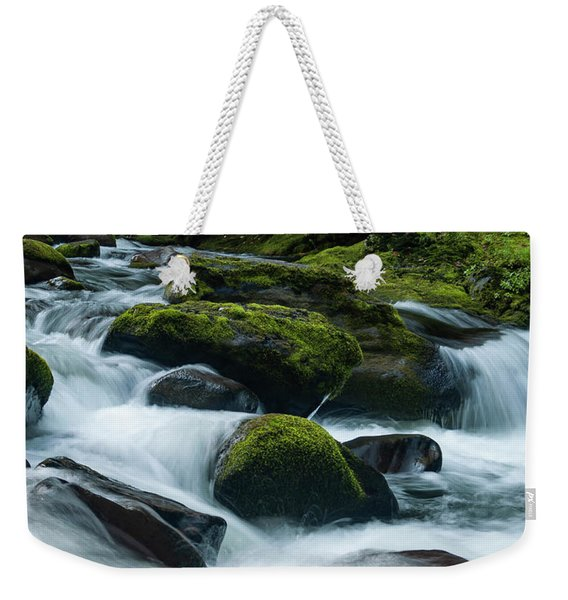 White Water Weekender Tote Bag