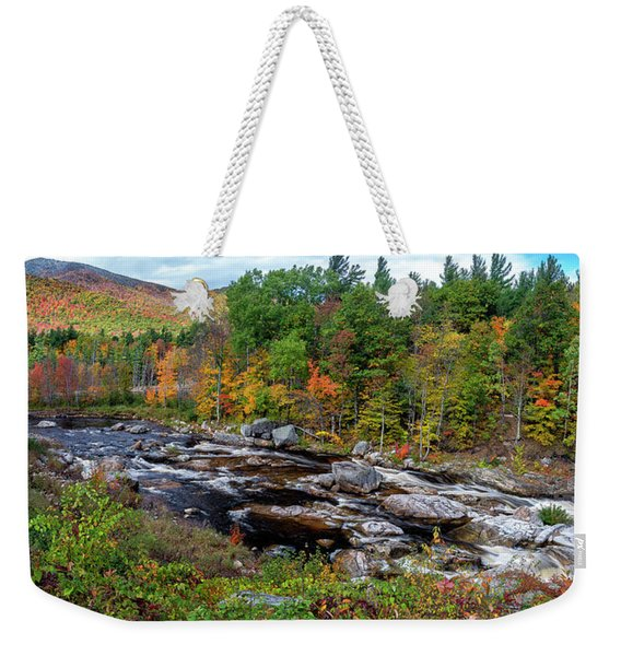 Whiteface Mountain Fall Weekender Tote Bag