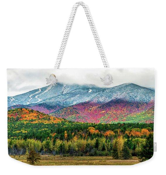 Whiteface Mountain Panorama Weekender Tote Bag