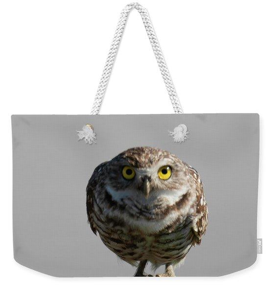 Whooo Are You Weekender Tote Bag