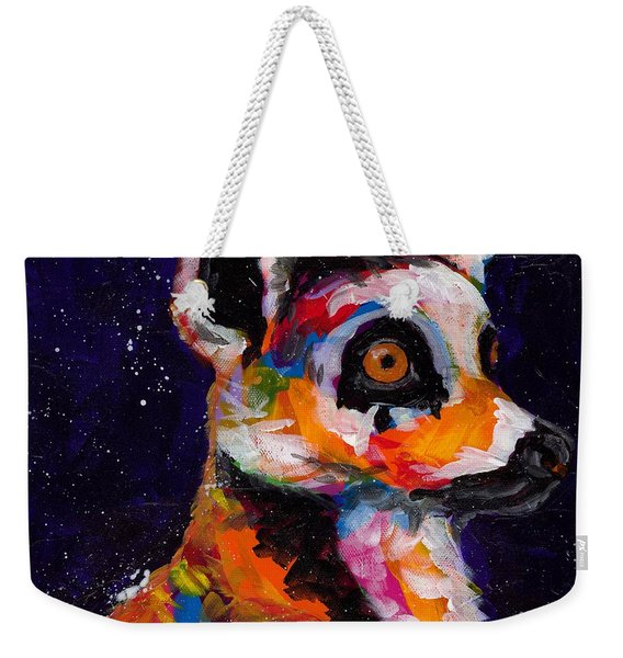 Wide Eyed And Bushy Tailed Weekender Tote Bag