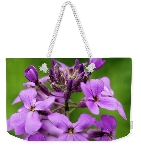 Wild Flowers In The Forest Weekender Tote Bag