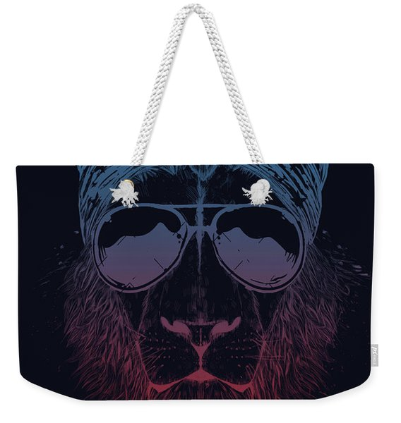 Wild Lion  Weekender Tote Bag