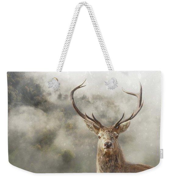 Wild Nature - Stag Weekender Tote Bag