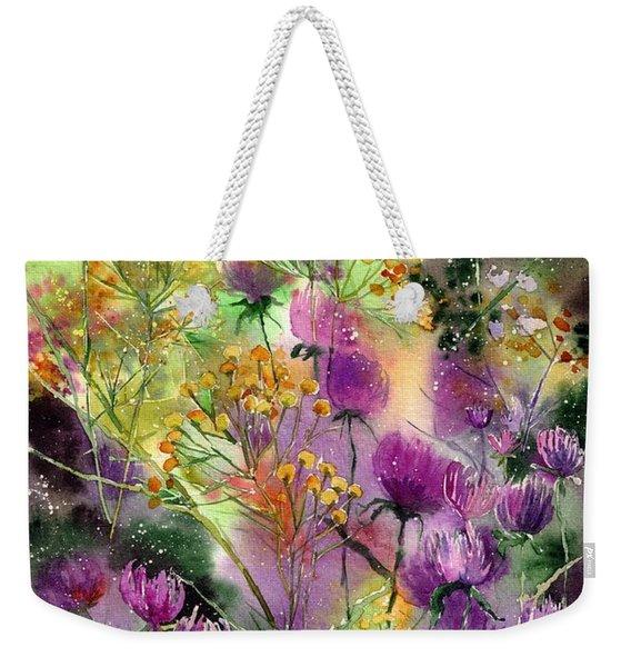 Wild Tansy Weekender Tote Bag