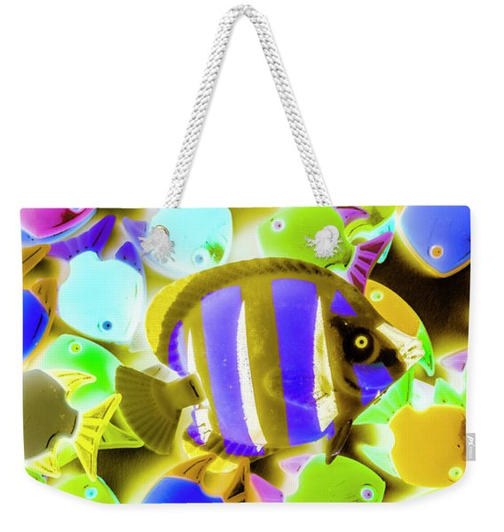 Wild Waters Weekender Tote Bag