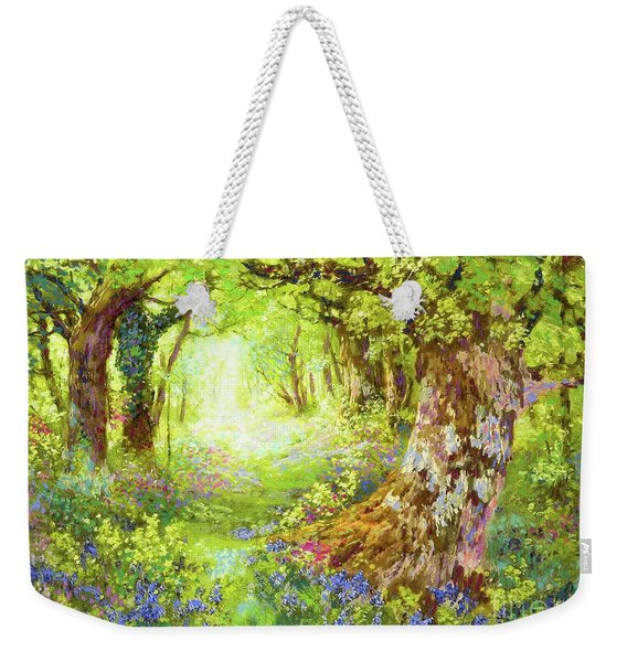 Wildflower Delight Weekender Tote Bag