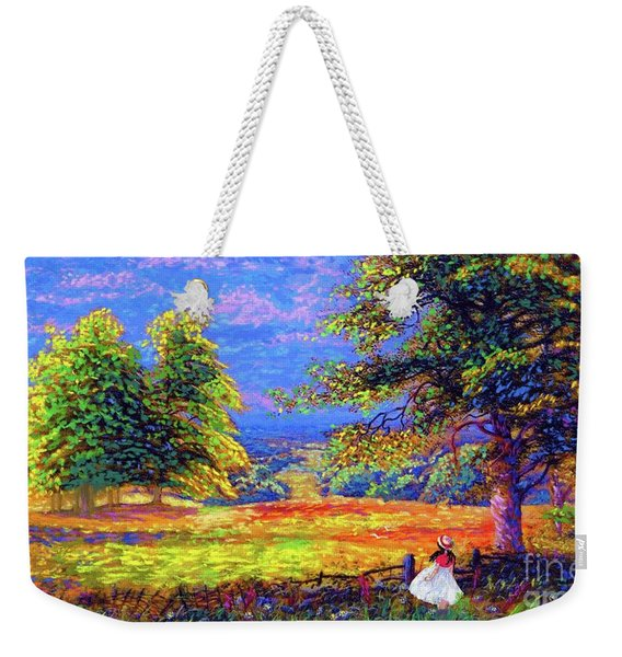 Wildflower Fields Weekender Tote Bag