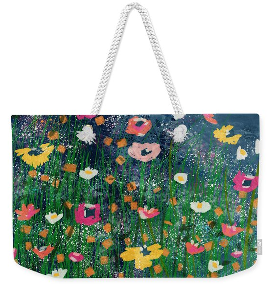Wildflowers 2- Art By Linda Woods Weekender Tote Bag