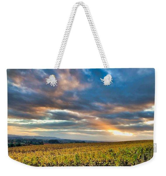 Willamette Valley In Fall Weekender Tote Bag