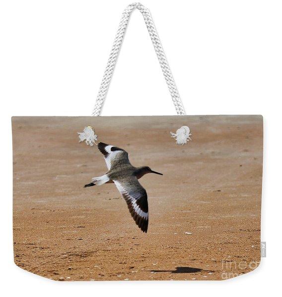 Willet In Flight Weekender Tote Bag