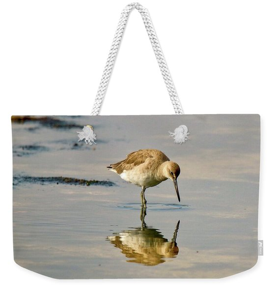 Willet Sees Its Reflection Weekender Tote Bag