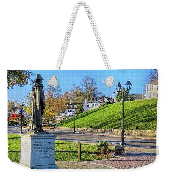 William Bradford Plymouth Ma Weekender Tote Bag