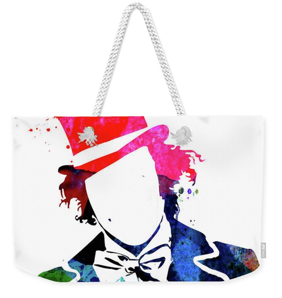 Willy Watercolor II Weekender Tote Bag