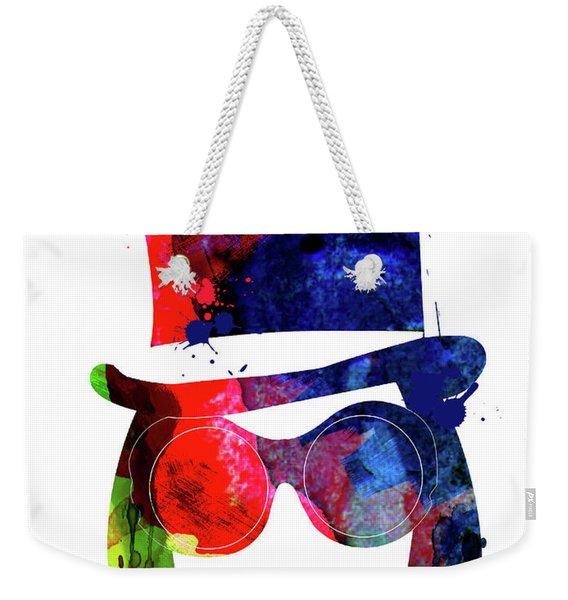 Willy Wonka Watercolor Weekender Tote Bag