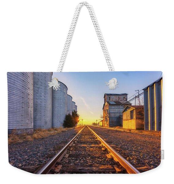 Wilson's Golden Rails Weekender Tote Bag
