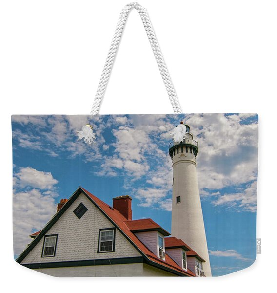 Wind Point Lighthouse No. 2 Weekender Tote Bag