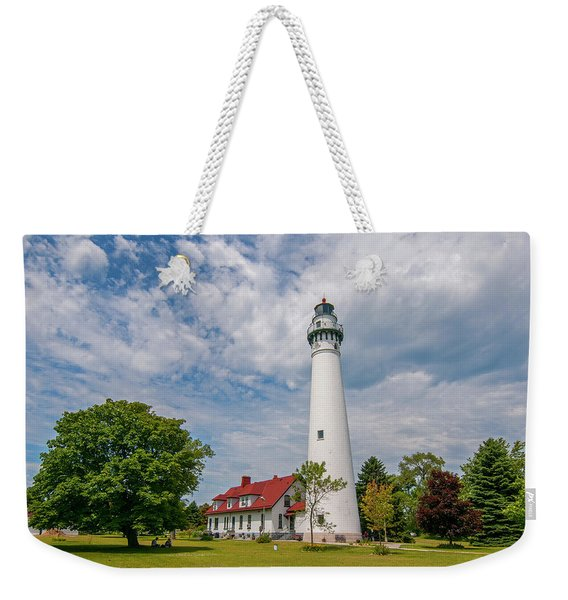 Wind Point Lighthouse No 3 Weekender Tote Bag
