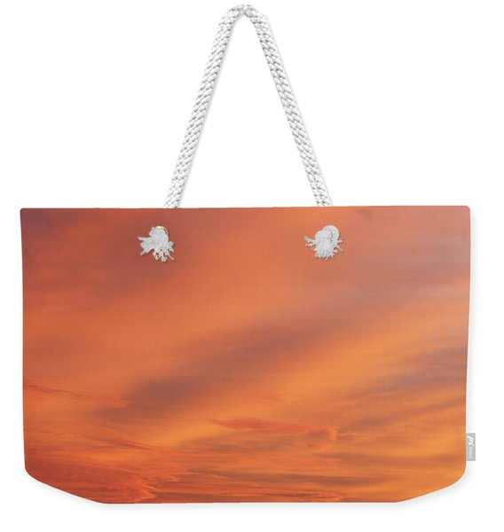 Weekender Tote Bag featuring the photograph Windmill And Afterglow 03 by Rob Graham