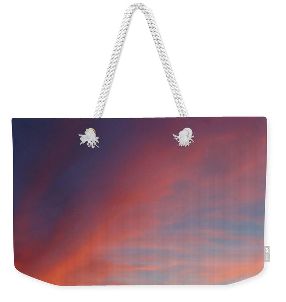 Weekender Tote Bag featuring the photograph Windmill And Afterglow 05 by Rob Graham