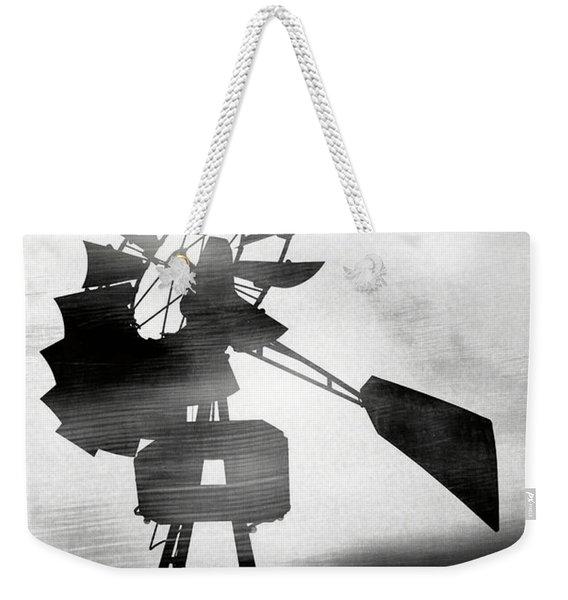 Windmill In The Wind- Art By Linda Woods Weekender Tote Bag