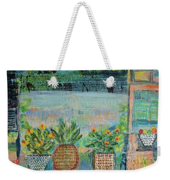 Window Box Weekender Tote Bag