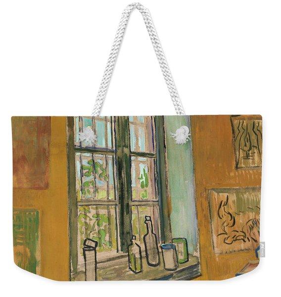 Window In The Studio Weekender Tote Bag
