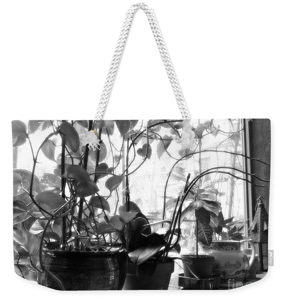 Window Sill Winter Garden Weekender Tote Bag