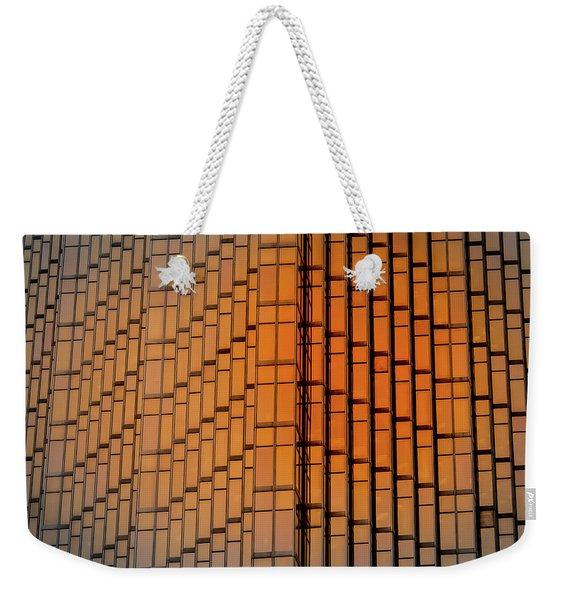 Windows Mosaic Weekender Tote Bag