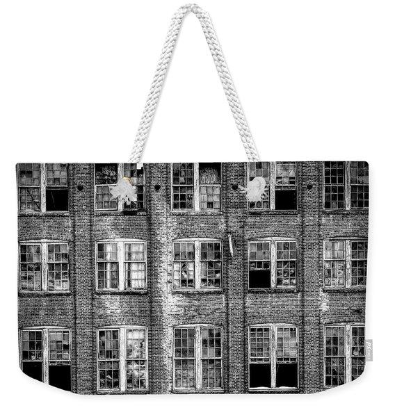 Windows Of Old Claremont Weekender Tote Bag