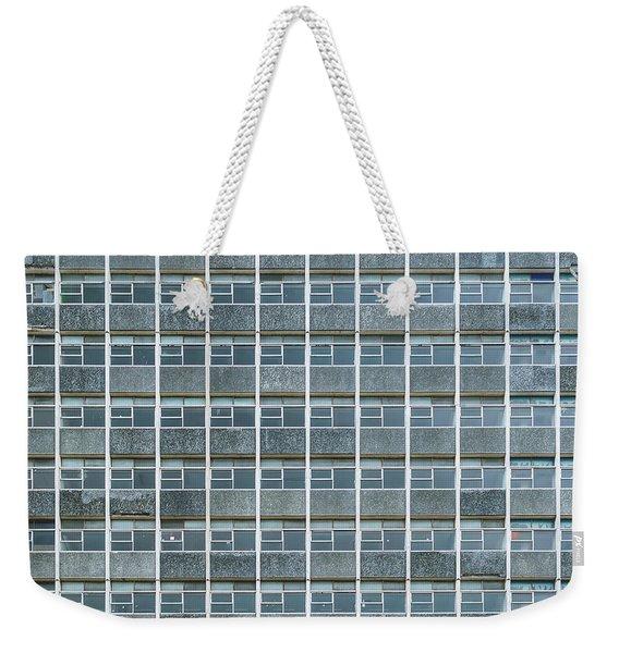 Windows Pattern Modern Architecture Weekender Tote Bag