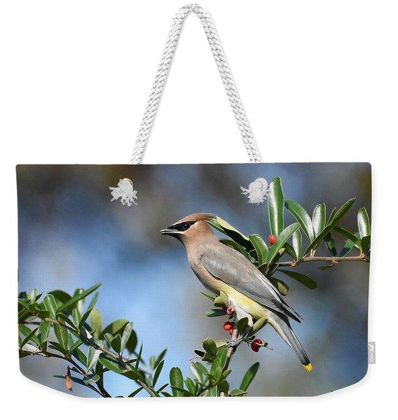 Winged Beauty Weekender Tote Bag