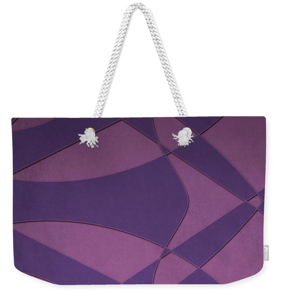 Wings And Sails - Purple And Pink Weekender Tote Bag